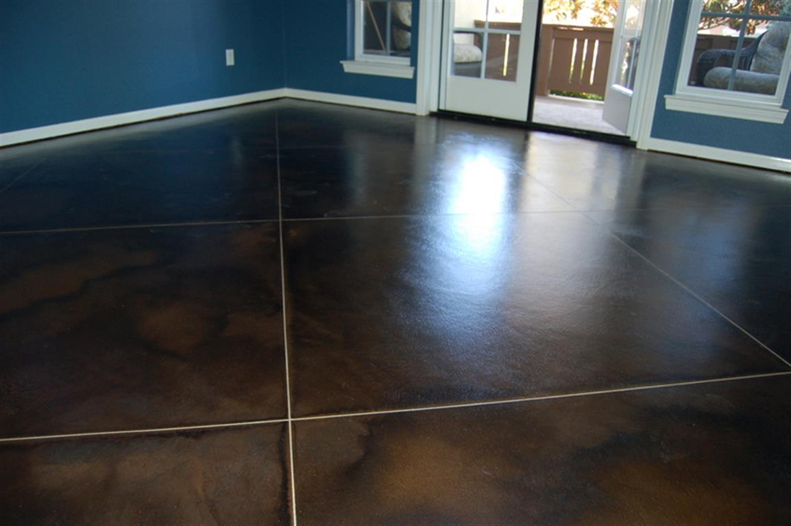 Interior Floor Acid Stain And Clear Coat Quality Sealants - Clear coat for tile floors