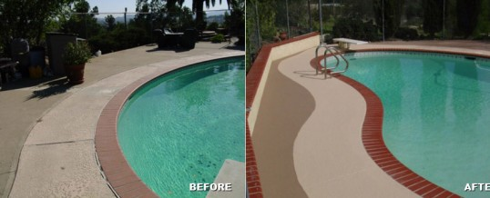 Get your pool deck ready for summer!