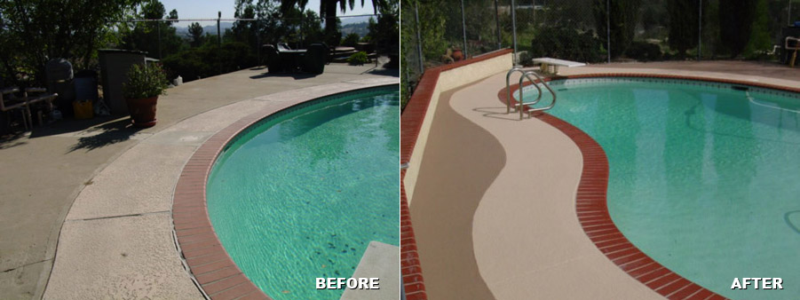 Get Your Pool Deck Ready For Summer Quality Sealants San
