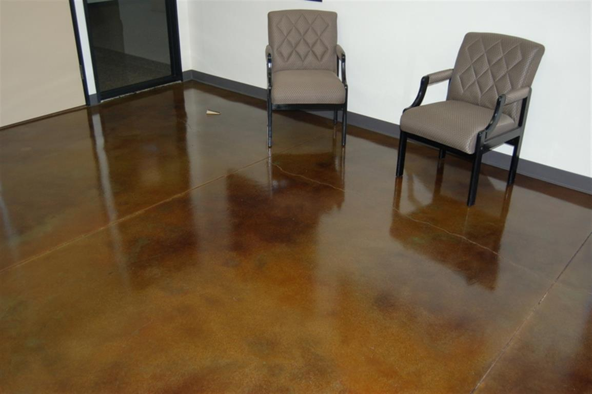 Commercial Flooring Acid Stain